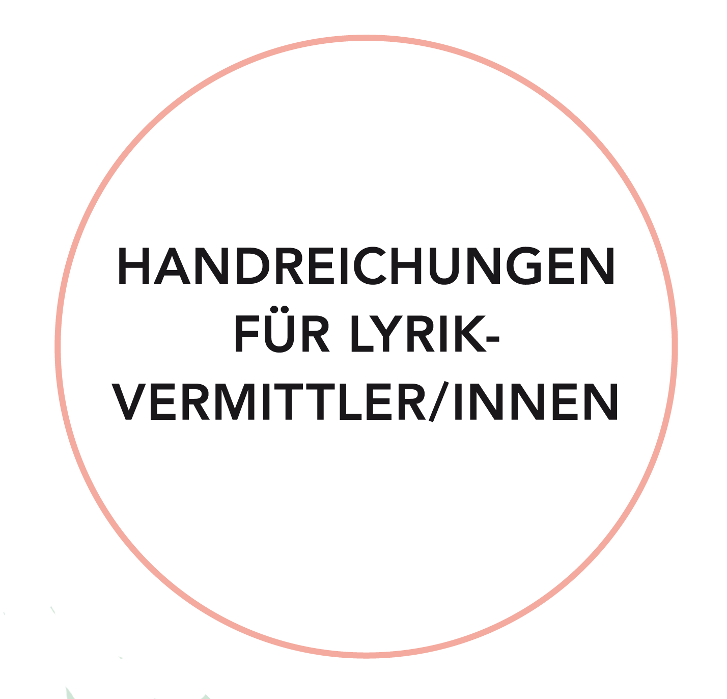 Startseite Lyriklineorg